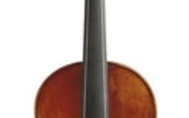 Contemporary Violin - In Baroque form, unlabeled, length of two-piece back 356 mm.
