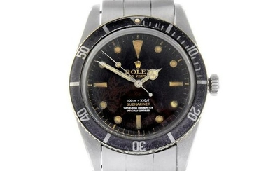 ROLEX - a gentleman's Oyster Perpetual Submariner '4