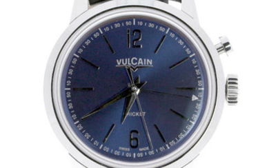 Vulcain - 50's Presidents Cricket Blue Dial - 100153.297L - Unisex - 2019