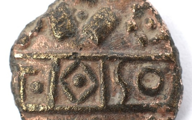 Ancient British coinage base core gold plated stater (3.38g)...