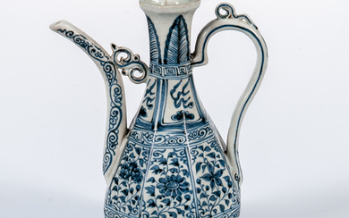 Blue and White Ewer