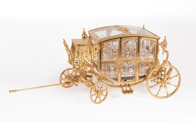 Cave à Liqueur in the Form of a Carriage