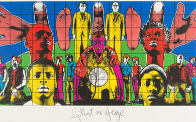 Gilbert and George (b.1943 & 1942) Death after Life