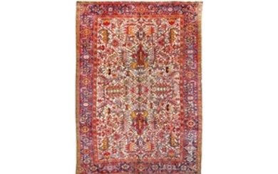 A HERIZ CARPET, NORTH-WEST PERSIA