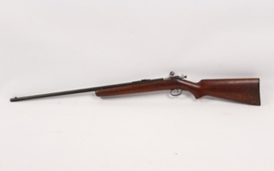 Winchester model 67 22 rimfire single shot bolt action rifle