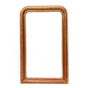 A 19th century French mirror.