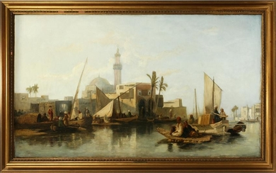 STYLE OF WILLIAM JAMES MULLER OIL ON CANVAS