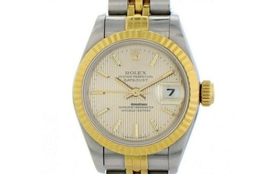 Rolex Oyster Perpetual Datejust 69173 Tapestry Dial
