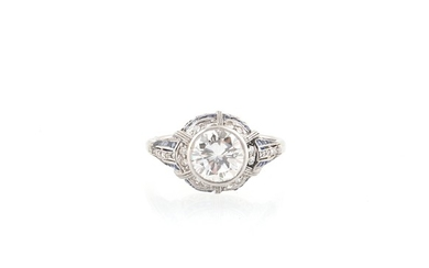 Diamantring zus. ca. 1,55 ct