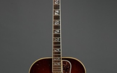 AMERICAN SUPER 400 SUNBURST ACOUSTIC GUITAR BY GIBSON