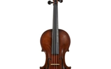 A French Violin by René Champion, Paris, 1751 Labeled:...