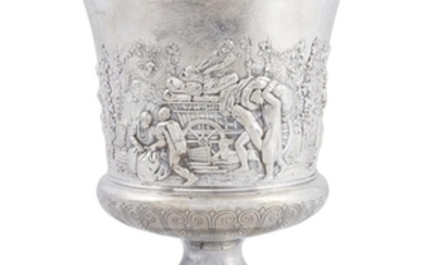 A George IV sterling silver urn Philip Rundell, London,...