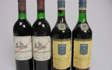 Mixed Lot Bordeaux 1970