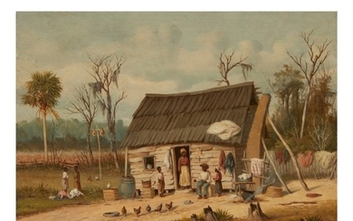 WILLIAM AIKEN WALKER | CABIN SCENE
