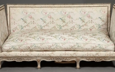 Louis XV Style Silvered Wood Daybed