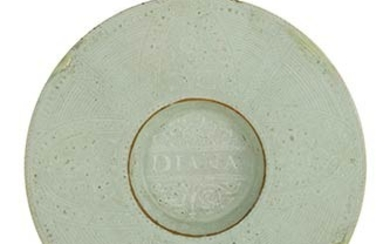 Plate Plate with wide brim, small cavetto, low rims support....