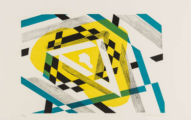 Stanley William Hayter (1901-1988) Triangle; Convex Mirror (Black and Moorhead 385; Black and Moorhead 412)