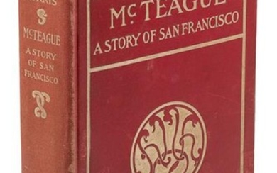 McTeague: A Story of San Francisco, 1st Ed