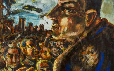 Peter Howson (b.1958) The Unionist