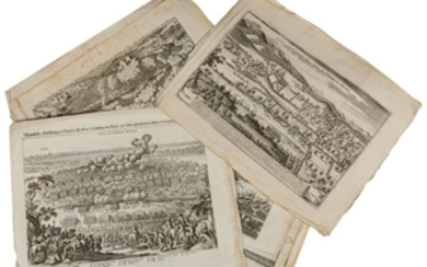 Antique - German & English Map Book Plates