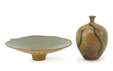 Two modern ceramic objects
