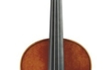 Contemporary Violin - Unlabeled, length of two-piece back 353 mm.