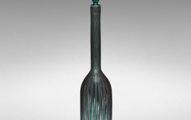 Gio Ponti, Monumental Canne bottle with stopper, model 4498