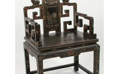 Chinese Lacquered Wedding Chair ??????????