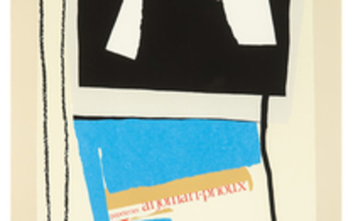 Robert Motherwell - Robert Motherwell: America - La France Variations V