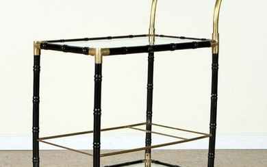 BRASS COCKTAIL CART MANNER OF BILLY HAINES C.1960
