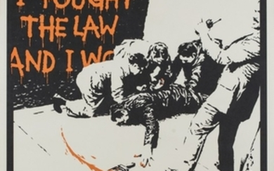 Banksy (1974) I FOUGHT THE LAW, 2005