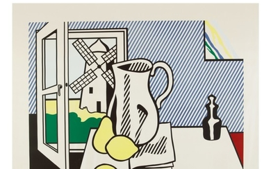 ROY LICHTENSTEIN | STILL LIFE WITH WINDMILL (CORLETT 132)