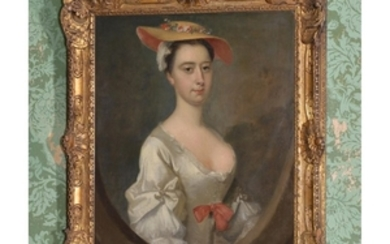 Circle of Bartholomew Dandridge (British 1691-c.1754) Portrait of Lady Dixie Pickering