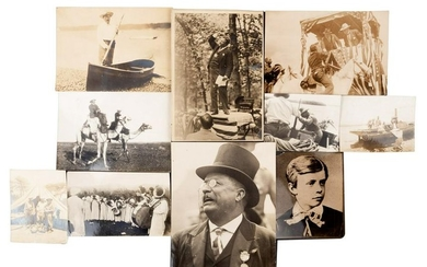 Trove of photographs of Theodore Roosevelt