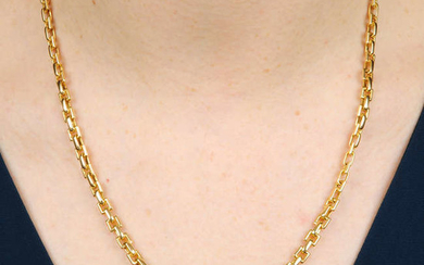 A necklace, by Tiffany & Co.