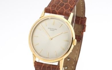 Patek Philippe 18k Gold Calatrava Model Reference 3416 Manual Watch, ca.1960s