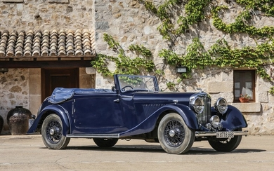 1936 Bentley 4¼-Litre Drophead Coupé by Park Ward