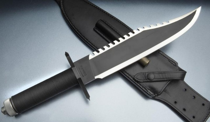 Jimmy Lile Rambo The Mission #19 knife,