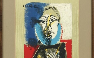 AFTER PABLO PICASSO (SPANISH, 1881-1973), COLOR LITHOGR