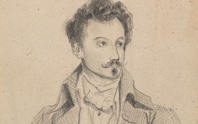 EUGÈNE DEVÉRIA (Paris 1805 1865 Pau) Two drawings.