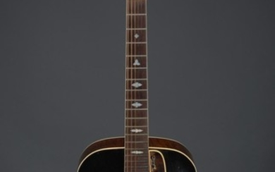 AMERICAN ACOUSTIC SUNBURST GUITAR BY GIBSON