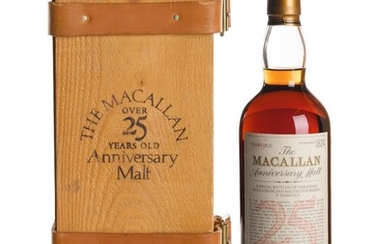 THE MACALLAN 25 YEAR OLD ANNIVERSARY MALT 43.0 ABV 1975