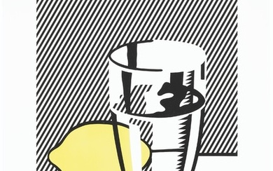 ROY LICHTENSTEIN (1923-1997), Untitled (Still Life with Lemon and Glass), from For Meyer Schapiro