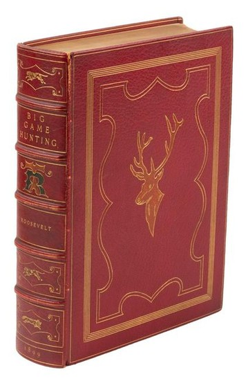 Signed by President Roosevelt, finely bound