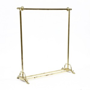 vintage brass clothing rack brass clothing rack