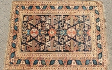 A VERY GOOD CAUCASIAN PERPERDIL RUG with a superb