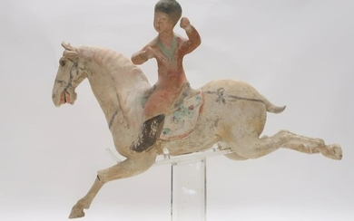 Tang Style Horse and Rider