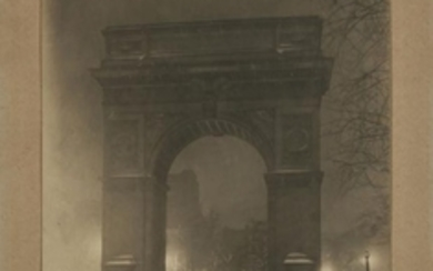 BEALS, JESSIE TARBOX (1871-1942) The Washington Arch at Midnight