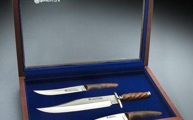 (3) Jimmy Lile hand made knives for Beretta