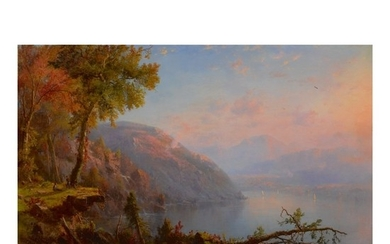RÉGIS FRANÇOIS GIGNOUX | ON THE UPPER HUDSON